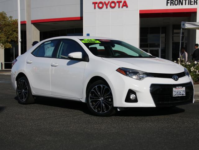 Certified Pre Owned 2016 Toyota Corolla S