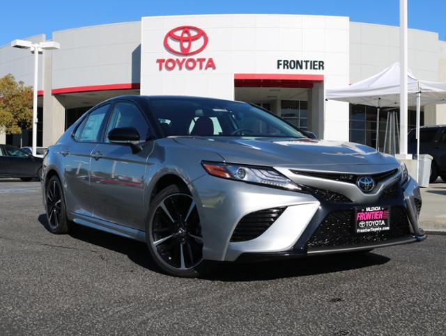 New 2019 Toyota Camry Xse 4dr Car In Valencia 00301348 Frontier