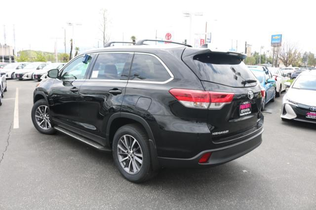 New 2019 Toyota Highlander XLE 4WD
