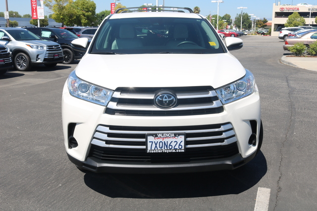 Certified Pre-Owned 2017 Toyota Highlander LE FWD