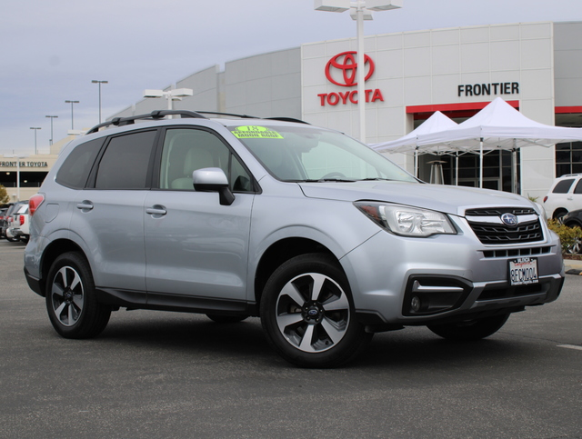 Pre-Owned 2018 Subaru Forester 2.5 PR BLK