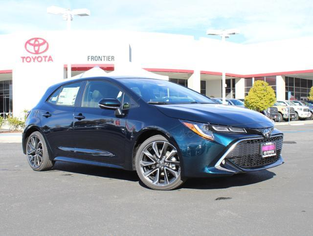 New 2019 Toyota Corolla Hatchback Xse 4dr Car In Valencia 00300929