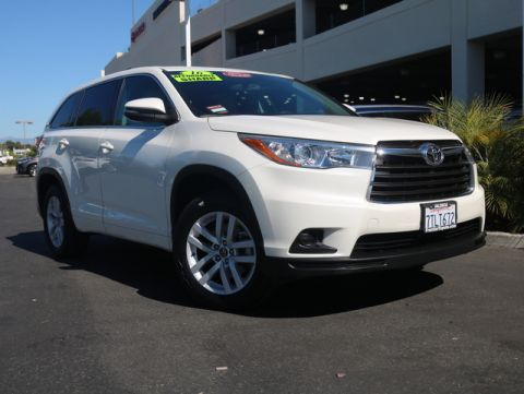 Certified Pre-Owned 2016 Toyota Highlander LE FWD